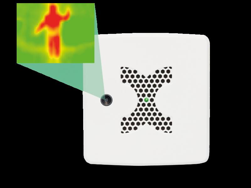 MultiSensor-Thermal Image mit 90° Optik (Weiss)