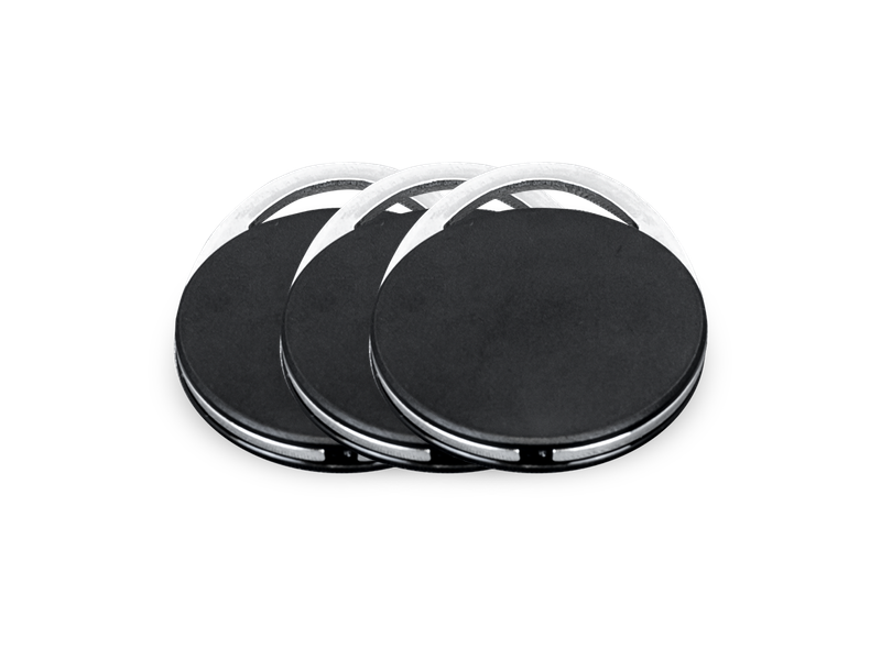 RFID Transponder Schlüsselanhänger 2k EV2, 25 Stück (MIFARE® DESFire®)