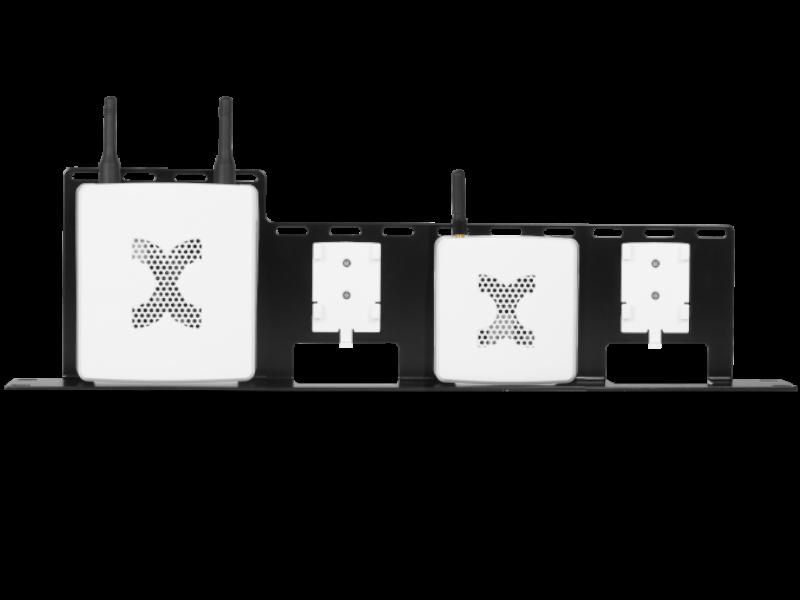 19-Zoll Rack-Einbaurahmen für Kentix Geräte (KAM, KMS, KXP, KPM)