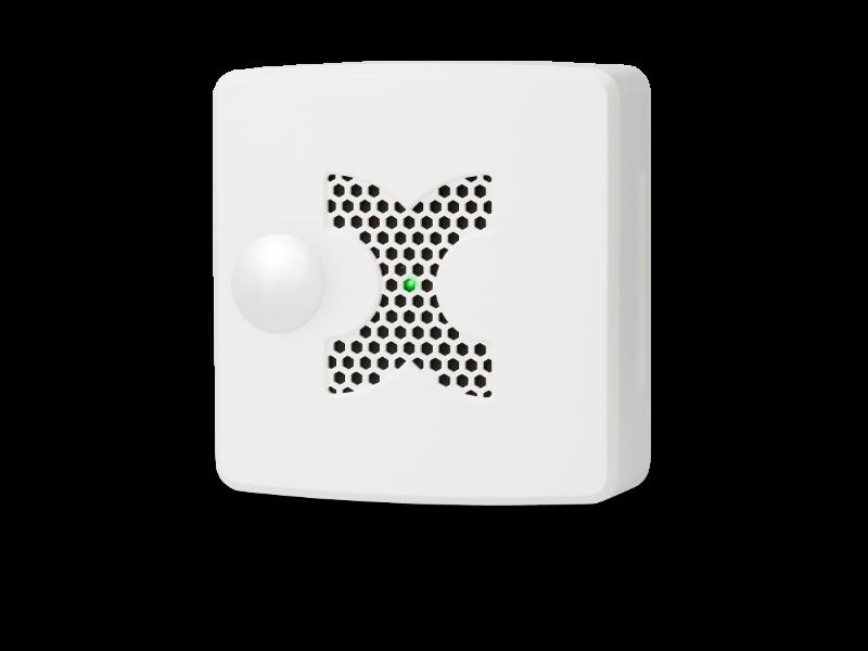 MultiSensor-LAN-RF mit PoE (Weiss)