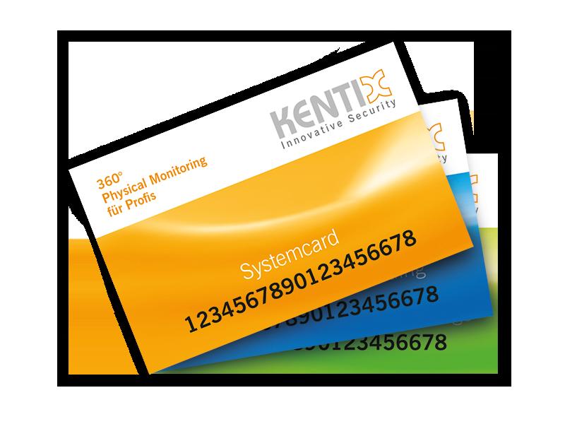 Masterkartensatz für Kentix DoorLock FUNK (MIFARE® DESFire®)
