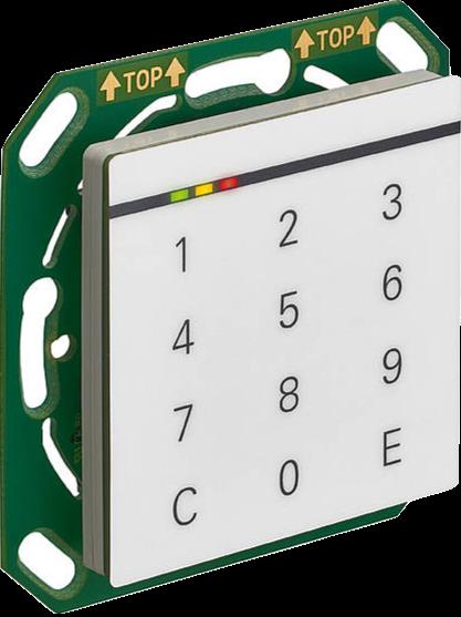DoorLock-WA-IP Erweiterungsleser Unterputz (MIFARE® DESFire) zu KXC-WA2-IP1