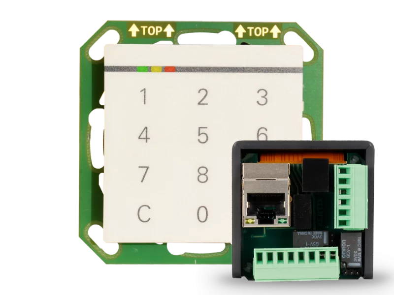 StarterSet DoorLock-WA-IP Netzwerk-Leser für Unterputz-Einbau (MIFARE® DESFire)
