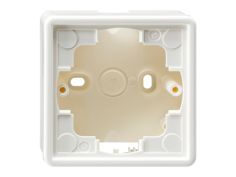DoorLock-WA1 Aufputzgehäuse für Gira S-Color REINWEISS