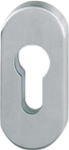Door rosette DoorLock-LE oval for EU profile cylinder